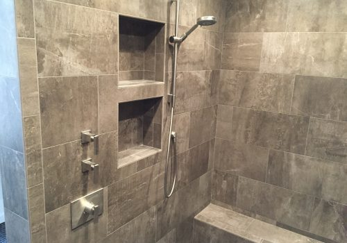 Modern Tile Shower Remodel Hauser Houses